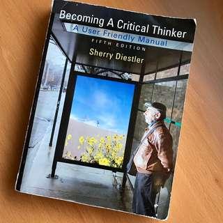 Becoming a Critical Thinker, Diestler