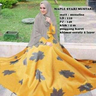 Maple syari 2in1