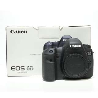 Canon EOS 6D DSLR Body Only