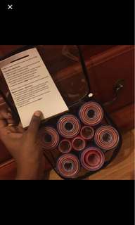Hair rollers used once!!