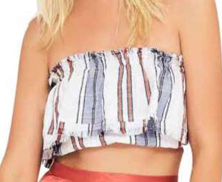 Tiger lily tube top