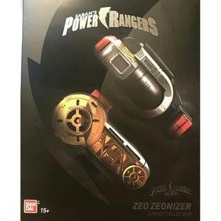 Legacy Power Rangers Zeo Zeonizer Morpher