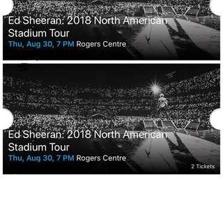 Ed Sheeran Floor Tickets