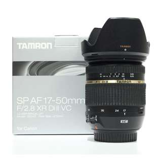 Tamron AF 17-50mm F2.8 XR Di II VC (Canon Mount)
