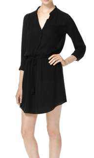 Aritzia Bennett dress black -small