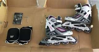 Women's size 8 rollerblades