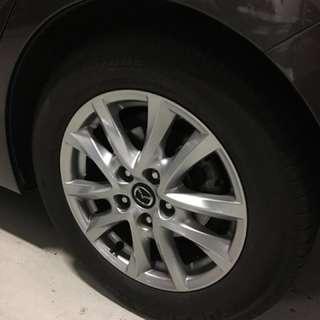 """Mazda 3 16"""" rim 5x114.3"""