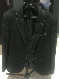 Penshoppe Black blazer for men