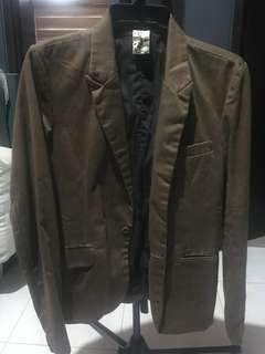 Brown blazer for men <People are People>