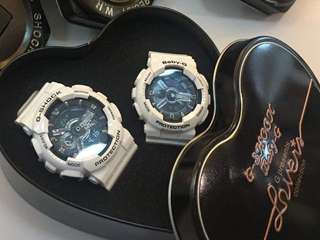 OEM gshock couple watch