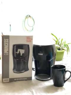 Coffee Maker 125ml Merk Princess Mesin Kopi Mini