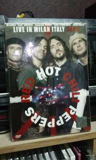 Dvd live red hot chili peppers