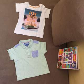 H&M and Gingersnaps shirt set