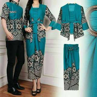 Couple & Family Set Fashion Wear (Hari Raya Edition)                     Modern Batik Design