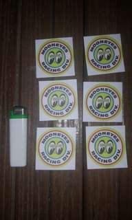 Mooneyes Decal Sticker