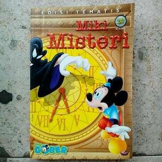 Komik Paman Gober Edisi Tematis: Miki Misteri
