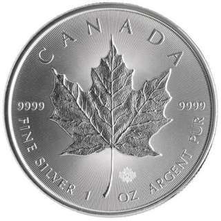 Canadian Silver Maple - Various years - 1 oz