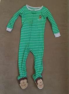 Carter's frog suit