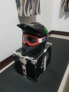 Fox VF1 MX Helmet