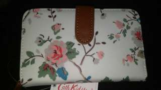 Authentic Cath Kidston White Floral Printed Medium Wallet