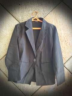 Black Office Coat