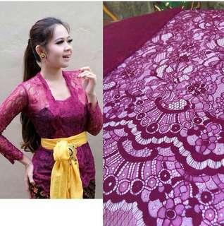 Kebaya Chantilly lace premium (limited edition)