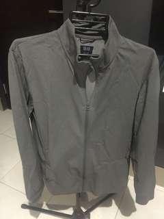 Gray Uniqlo Jacket