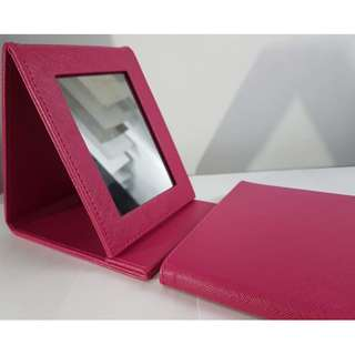 Pink Foldable/Carry-along Mirror