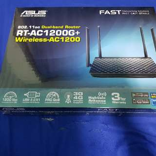 [BN] Asus dual-band wireless AC1200 router