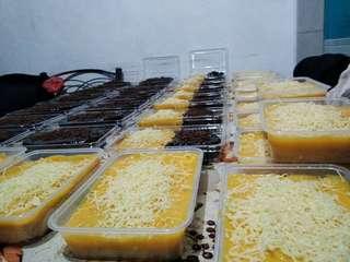 Yema cakes, chocolate cake etc...
