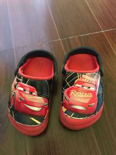 Authentic Crocs mcqueen light up