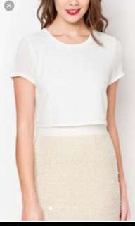 Zalora prem. - embellished skirt sheath dress / M