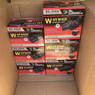 6000/12000L/H 12/24w wave maker