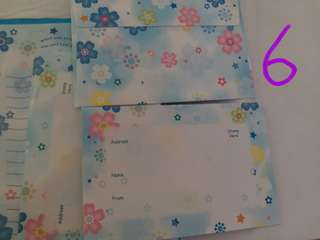 2款信紙連信封共13個 ~包郵