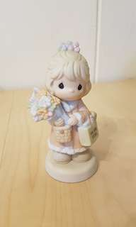 Precious Moments Figurine - It's time to bless your own day