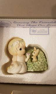 Precious Moments Figurine - Life's always greener with you by my side