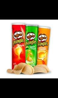 Pringles 158grams