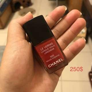Chanel時尚恆彩指甲油 #500
