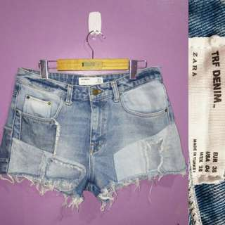 Zara HW HIDistressed Shorts