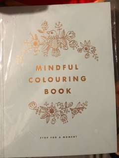 Below retail : BNIP Kikki mindful colouring book
