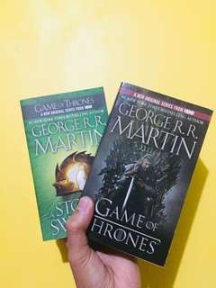 George R. R. Martin Game of Thrones book 1 & 3