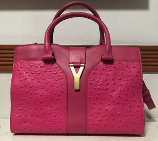 YSl Cabas Chyc  bag with strap