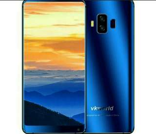 "Vkworld S8 4G Smartphone 18:9 Aspect Ratio 5.99"" FHD 5500mAh Face ID 4GB 64GB MTK6750T Octa Core 16MP Android Mobile Phone"
