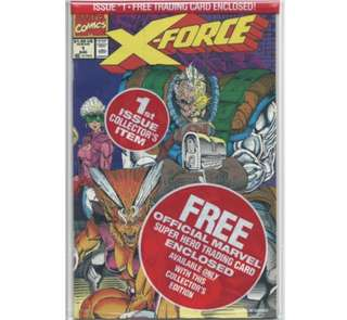 X-FORCE #1 (1991) First issue! Complete set Polybagged