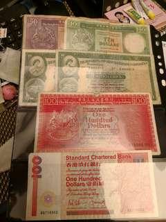 香港過時紙鈔