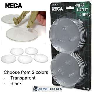 [FREE SHIPPING] NECA Set of 10 Action Figure Display Stands (Suitable for 7 inch figures)