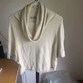 Forecast cowl neck sweater