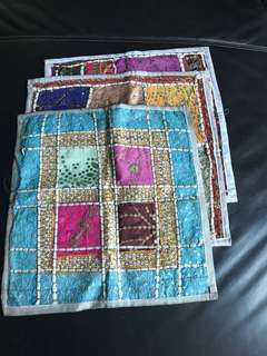 Cushion covers - 6 pieces set