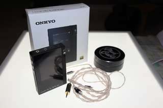 Onkyo DP-S1 80%new, Mad cable 2.5mm CM頭