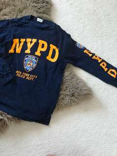 NYPD Women's long sleeve